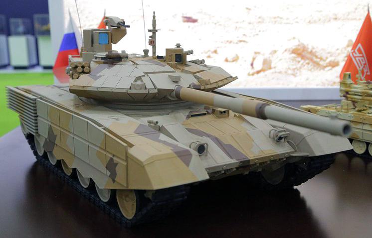 Модель танка Т-90М.