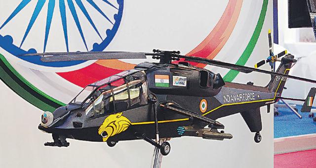 Модель индийского вертолета