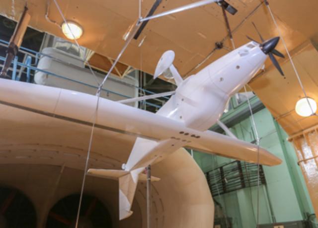 Модель многоцелевого самолета ЛМС-901