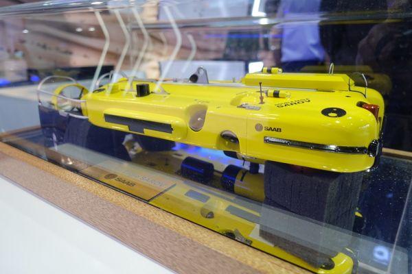 Модель подводного необитаемого аппарата Double Eagle Sarov