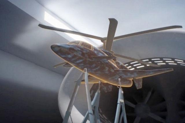 Модель сверхскоростного вертолета