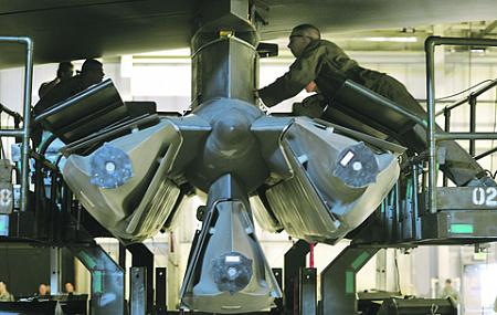 Модернизация ядерного арсенала США стала одной из причин нежелания продлевать договор СНВ-3. Фото ВВС США