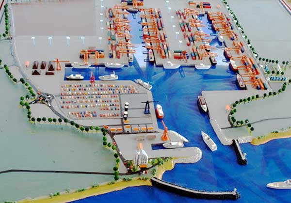 Планы China Merchants Port Holdings Co.Ltd. по дальнейшей модернизации порта Хамбанота на Шри-Ланке.