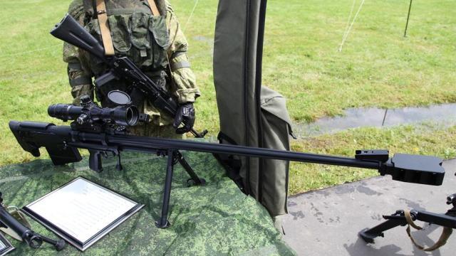 Модернизированная крупнокалиберная снайперская винтовка АСВК Корд-М 6В7М