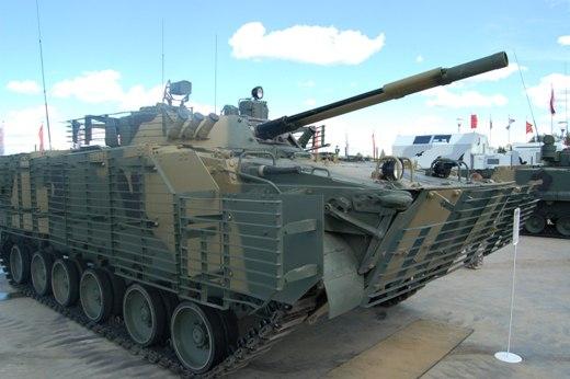 Модернизированная БМП-3М.