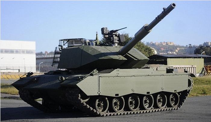 Модернизированный танк М60А3 от Leonardo Defense.