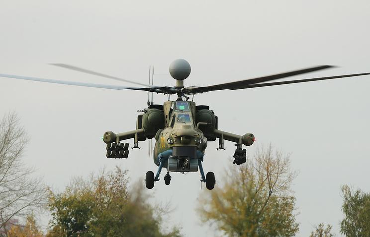 Модернизированный Ми-28Н.