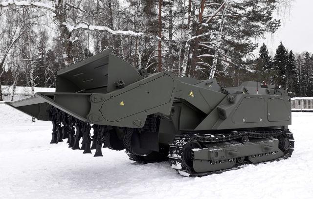 """Модернизированный робототехнический комплекс разминирования """"Уран-6"""""""