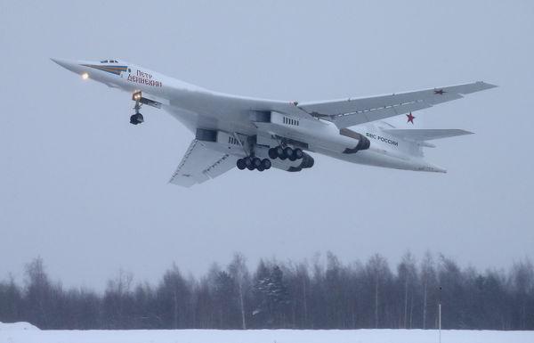 Модернизированный стратегический ракетоносец Ту-160М