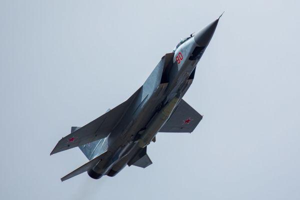 Модифицированный истребитель МиГ-31