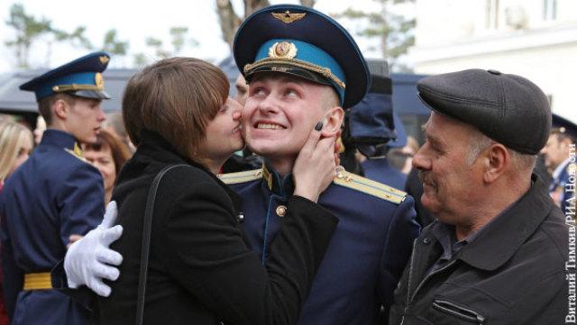 Молодой лейтенант ВВС – снова весьма перспективная служба