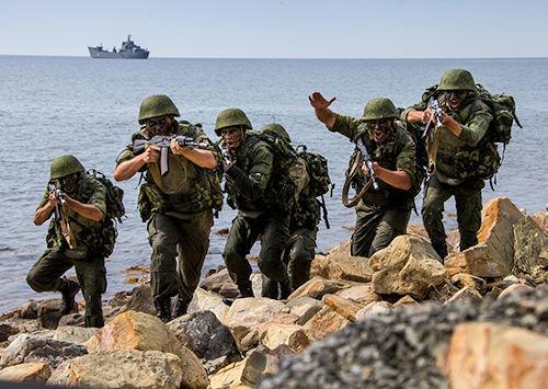 Морская пехота ВМФ РФ