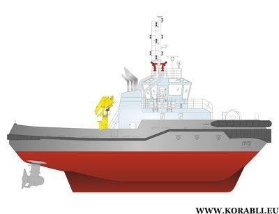 Морской буксир проекта 00440