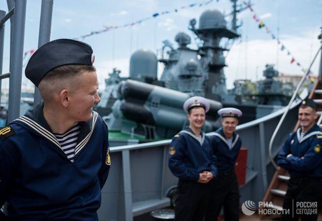 Моряки-Чернофлотцы