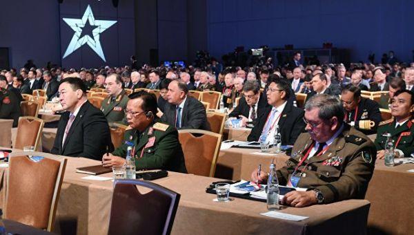 Московская конференция по международной безопасности. Архивное фото