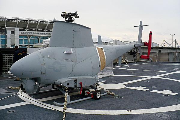 Беспилотный вертолет MQ-8 Fire Scout.