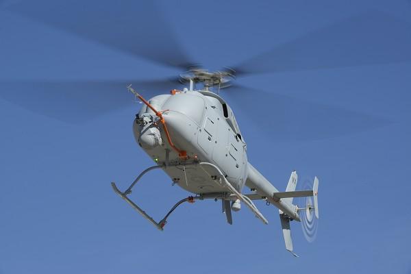 Беспилотный разведывательный вертолет MQ-8C Fire Scout.