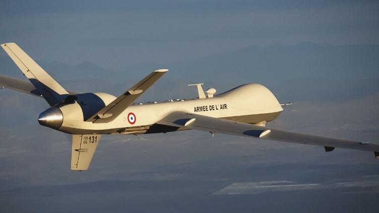 БЛА MQ-9 Reaper ВВС Франции.