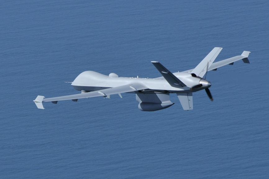 Опытный образец БЛА General Atomics MQ-9 Reaper.