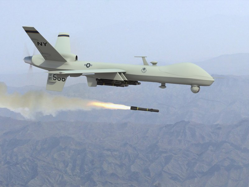 БПЛА MQ-9 Reaper.
