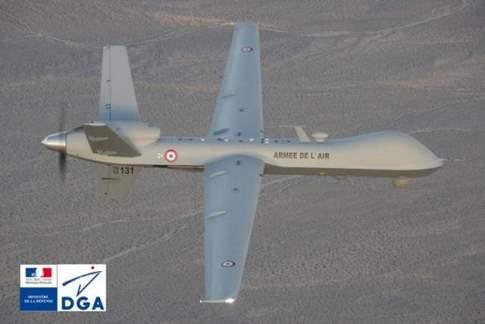 Авиабаза US Creech Air Force, округ Кларк штат Невада, тренировочный полет MQ-9 Reaper для передачи французским ВВС.