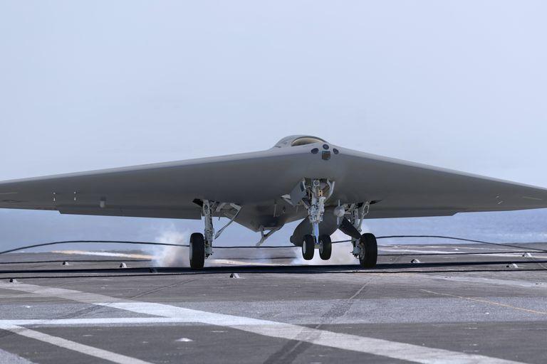 MQ-25 Stingray от Lockheed Martin.