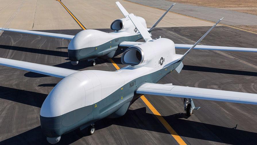 """БЛА MQ-4C """"Тритон""""."""