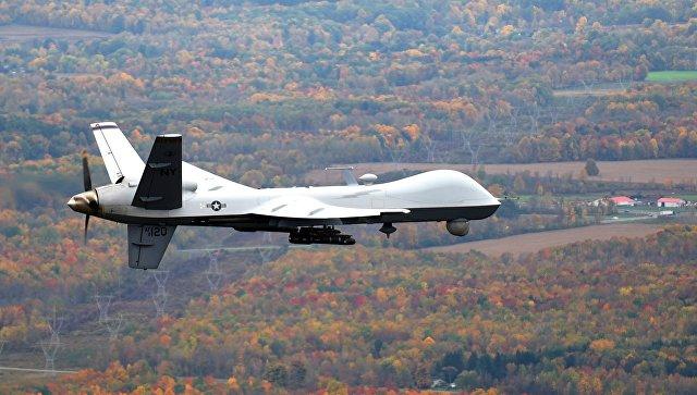 Беспилотник MQ-9 Reaper Национальной гвардии США.