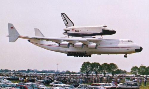 Ан-225 «Мрия» и «Буран»