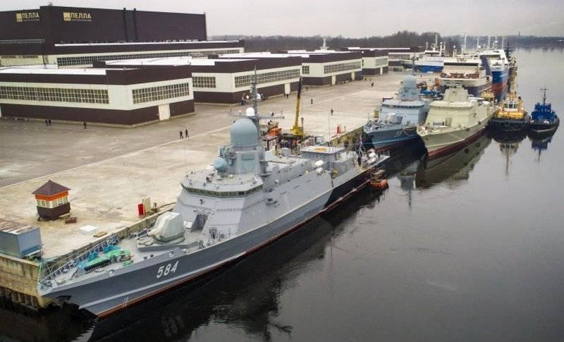 """Балтфлот вскоре получит 4 новых корабля, вооруженных """"Калибрами"""" и """"Панцирями"""""""