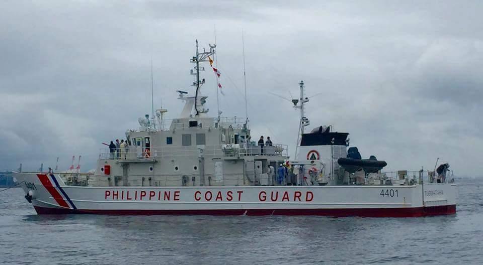 Многоцелевой патрульный корабль MRRV-4401 «Туббатаха» ВМС Филиппин.