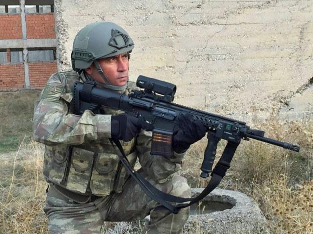 Турецкая 7,62-мм автоматическая винтовка МРТ-76