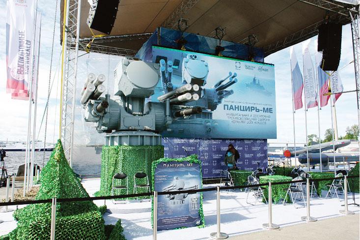 Презентация нового «Панциря» состоялась на открытой площадке у павильона № 5 МВМС-2017.
