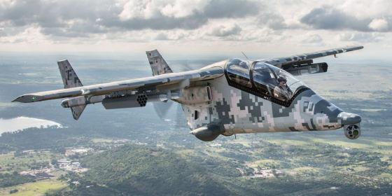 Легкий боевой самолет Mwari