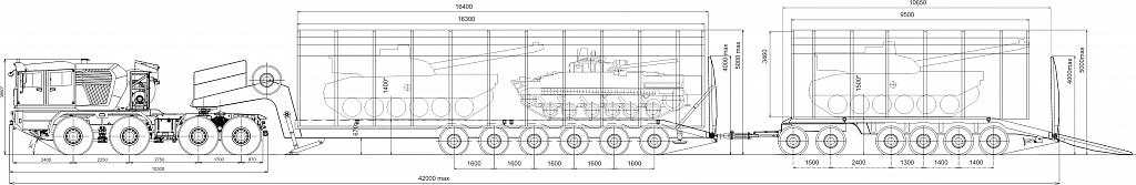 Колесный транспортер МЗКТ-741351 (Volat, ОАО «Минский завод колесных тягачей», Беларусь).