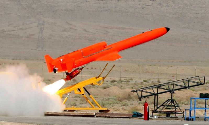Иранский ударный беспилотник &quot;Каррар&quot;<br>http://www.bornanews.ir/vglg7u9n.ak9z7a1rrqp4a.v.html.