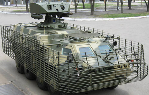 Украинский БТР-4.