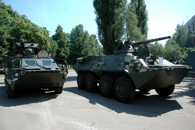 Украинские БТР-4.