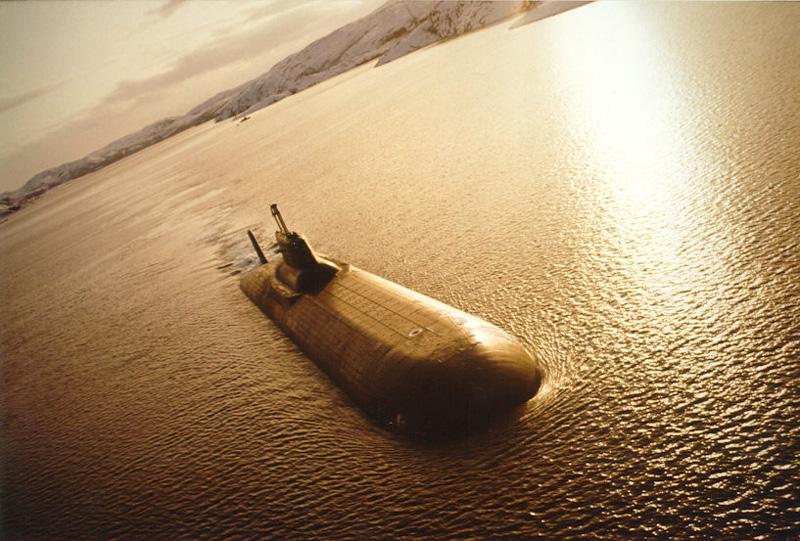 АПЛ пр.941 Акула<br>/архив.