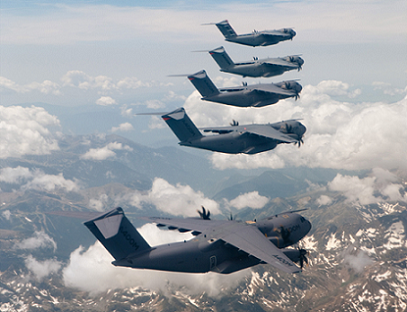 Групповой полет A400M