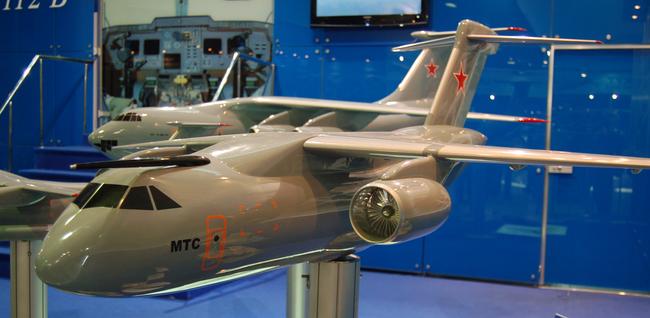Модель МТС (Многофункциональный Транспортный Самолет)<br>http://www.sdelanounas.ru/blogs/23674/.