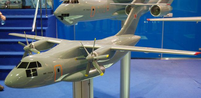 Макет Ил-112В.