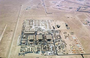 На авиабазе Эль-Удейд располагается Центральное командование ВС США Фото с сайта www.af.mil
