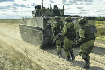 На фоне обострения ситуации в Черном море и на Украине округ становится одним из ключевых в вооруженных силах. Фото с www.mil.ru