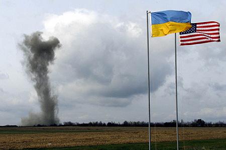 На фото: уничтожение последней пусковой шахты МБР РС-22 под городом Первомайск Николаевской области. Фото Reuters