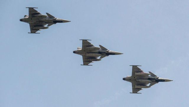 Истребители SAAB JAS 39 Gripen