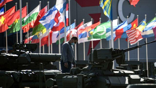 """На выставке вооружений Международного военно-технического форума """"Армия-2020"""" в военно-патриотическом парке """"Патриот"""""""