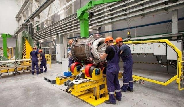 На заводе «Русские электрические двигатели»