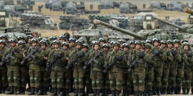 На государство, у которого есть сильная армия, не нападают