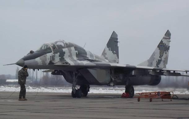 Истребитель МиГ-29 ВВС Украины.